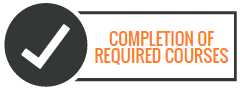 Image of Completion of Required Courses text