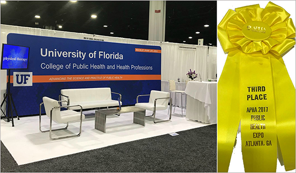 PHHP Wins Booth Prize at APHA » Master of Public Health