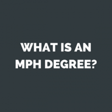 what is an mph degree