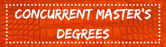 concurrent masters degrees