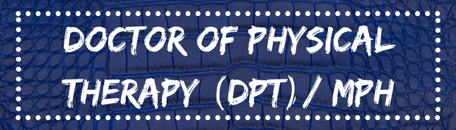 doctor of physical therapy (dpt) / MPH