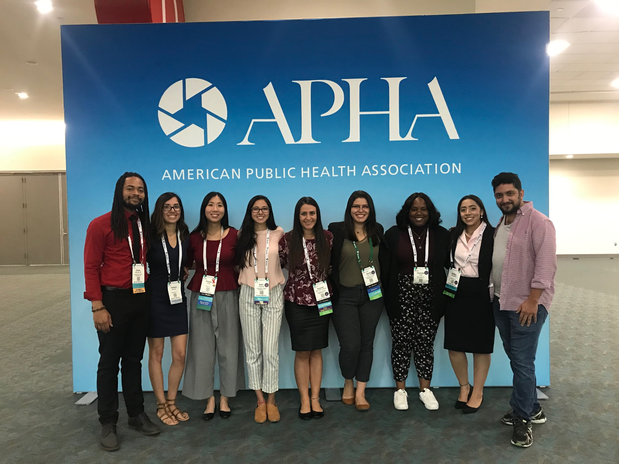 MPH students attend APHA