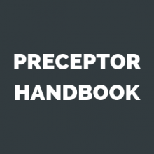 Preceptor Handbook